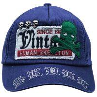 کلاه کپ طرح اسکلت مدل L01