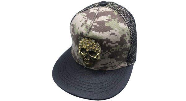 کلاه اسکلت فلزی