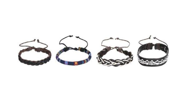 ست دستبند مجموعه 4 عددی