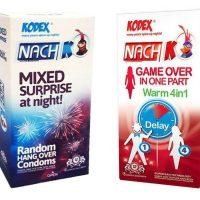 کاندوم کدکس مدل Mixed Surprise بسته 12 عددی به همراه کاندوم کدکس مدل Game Over In One Part بسته 12 عددی