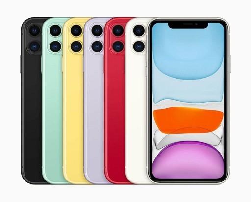 رنگبندی آیفون 11 اپل