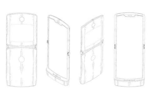 گوشی هوشمند تاشدنی موتورولا RAZR تا پایان سال ۲۰۱۹ معرفی میشود