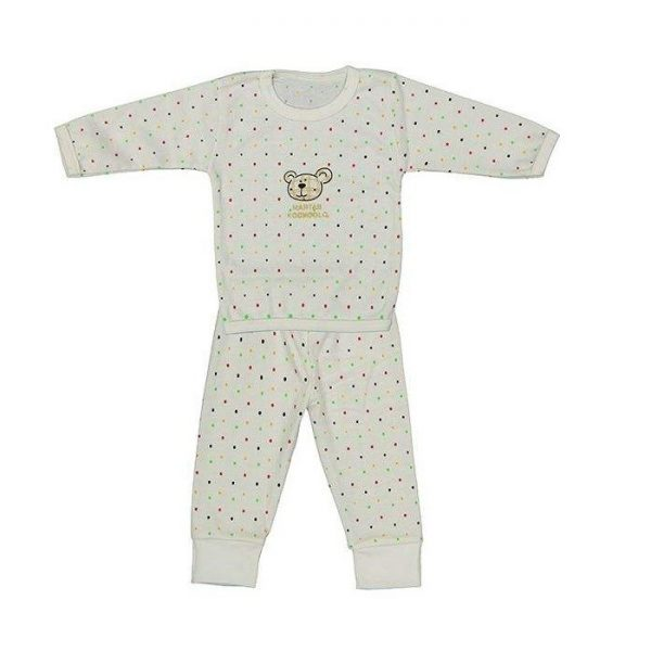 ست تی شرت و شلوار نوزادی دخترانه کد 2
