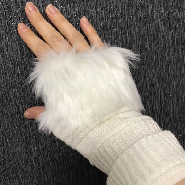 ساق دست زنانه مدل خزدار