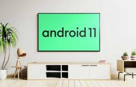 اندروید ۱۱ برای تلویزیونهای هوشمند