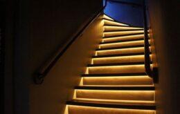 یک نورپردازی شیک برای راهرو و راه پله